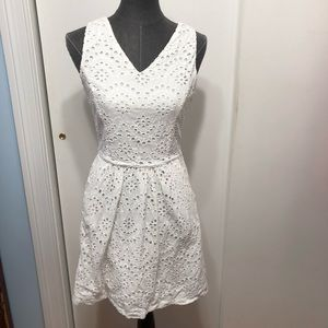 Cynthia Rowley white eyelet dress 4